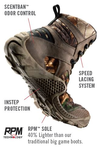 ac8e1cce6b4 VaprTrek lightweight hunting boots by Irish Setter