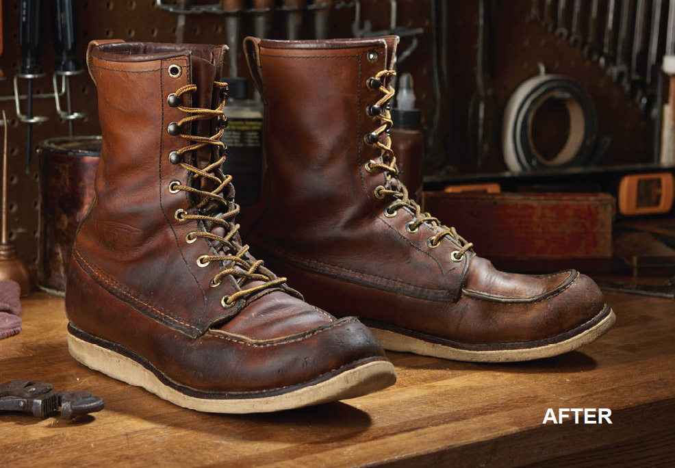 Worn Red Wing Boots - Yu Boots
